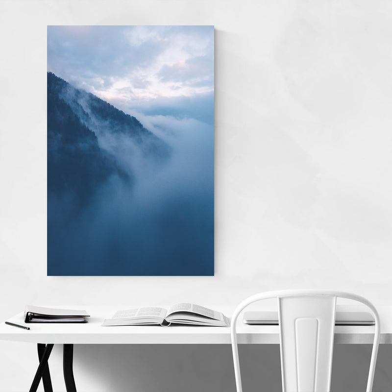 Lake Nambino Alps Mountain Italy Metal Art Print