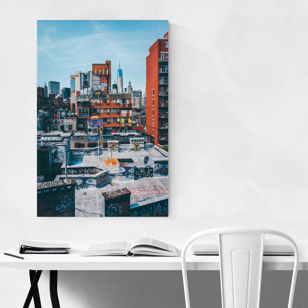 New York NYC Graffiti Street Art Art Print