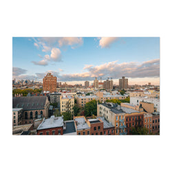 East Village New York City View Art Print