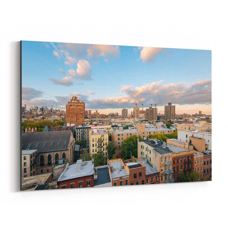 East Village New York City View Canvas Art Print
