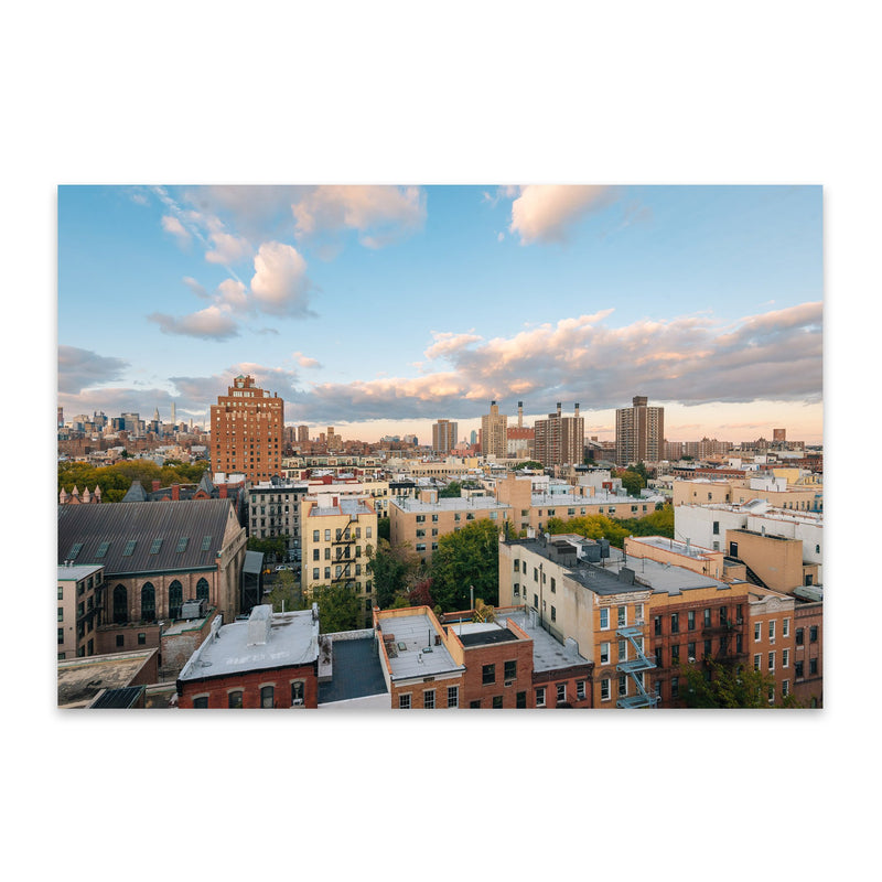 East Village New York City View Metal Art Print