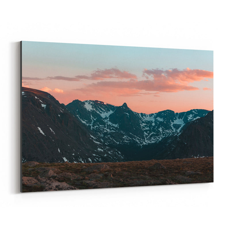 Rocky Mountain Park Colorado Canvas Art Print