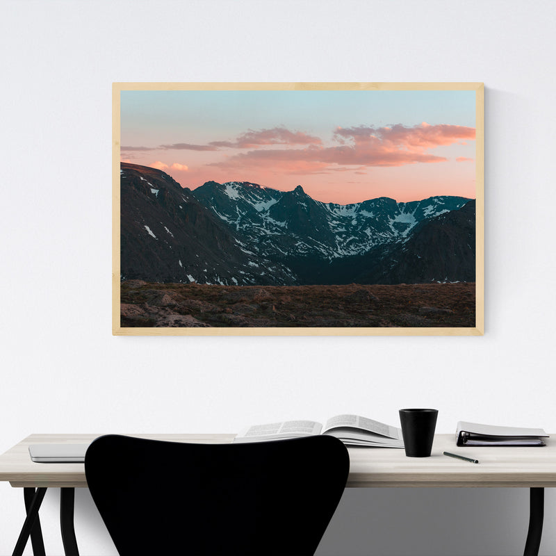 Rocky Mountain Park Colorado Framed Art Print