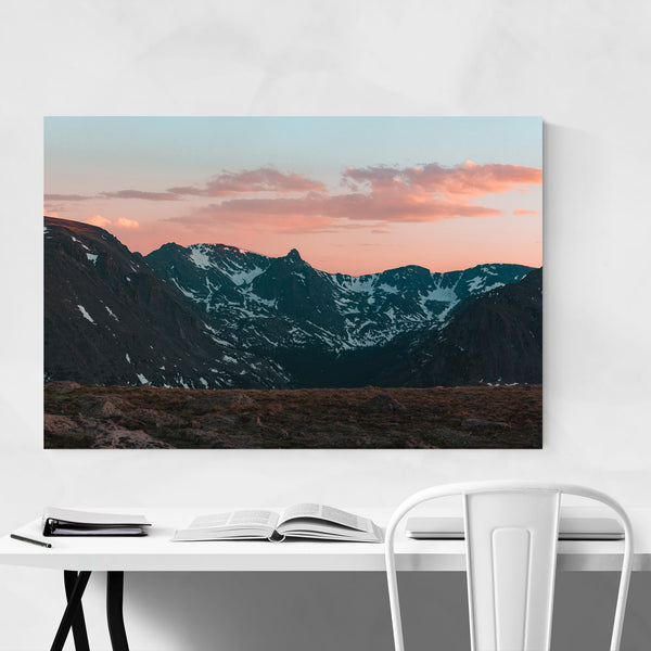 Rocky Mountain Park Colorado Art Print