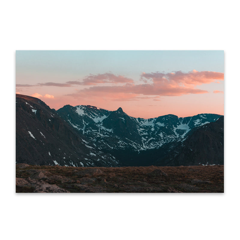 Rocky Mountain Park Colorado Metal Art Print