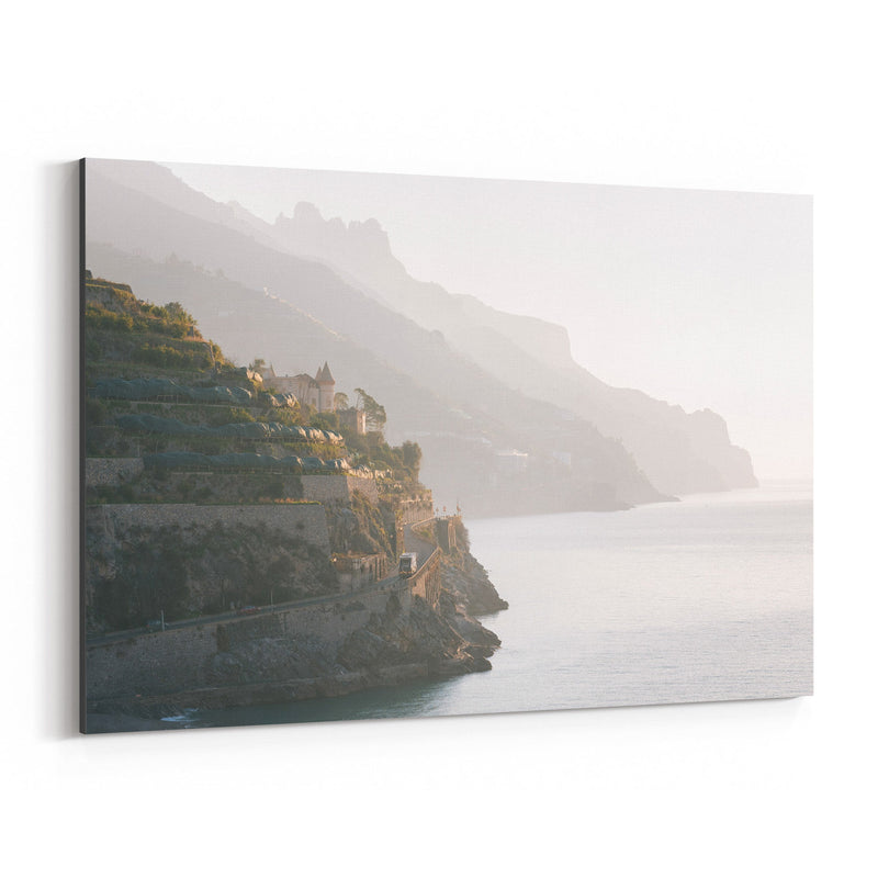 Minori Amalfi Coast Italy Photo Canvas Art Print