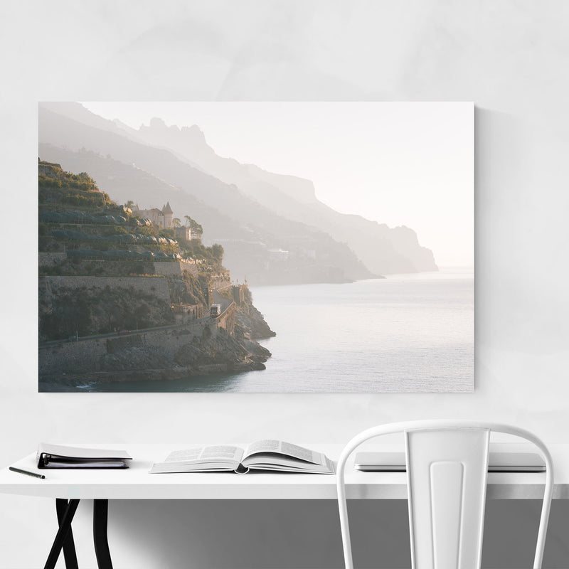 Minori Amalfi Coast Italy Photo Metal Art Print