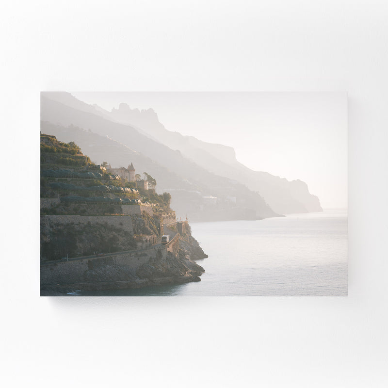 Minori Amalfi Coast Italy Photo Mounted Art Print