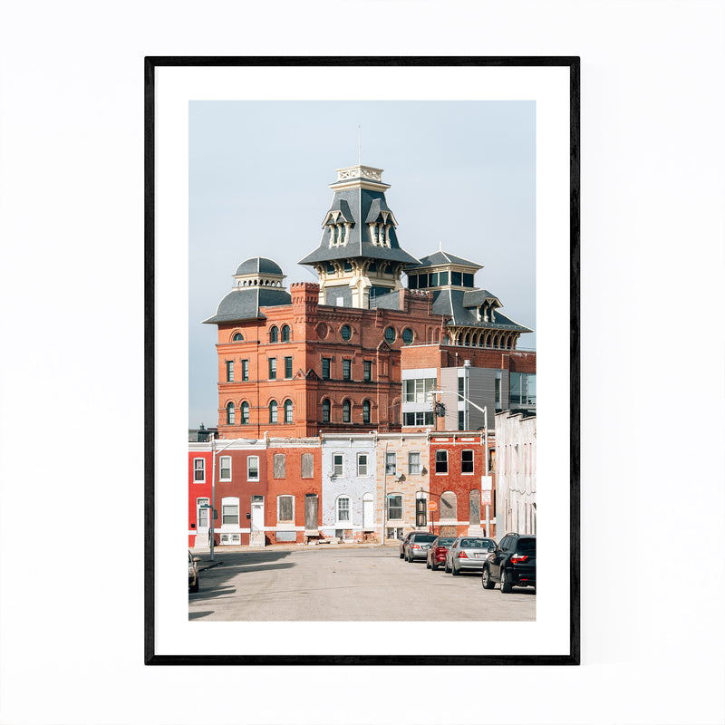 American Brewery Baltimore MD Framed Art Print