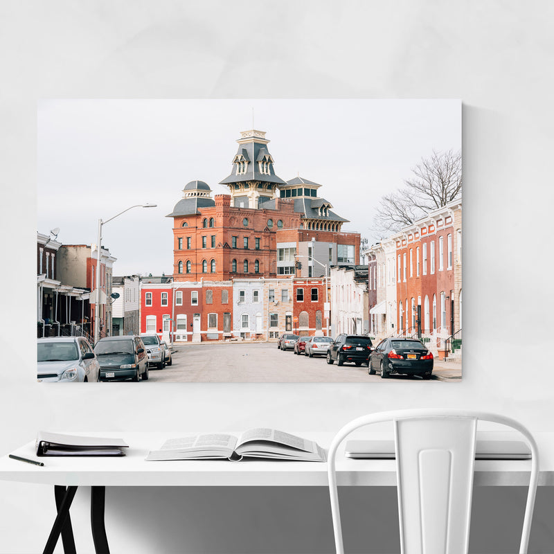 American Brewery Baltimore MD Art Print