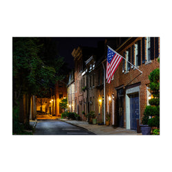 Fells Point Baltimore Row Houses Art Print