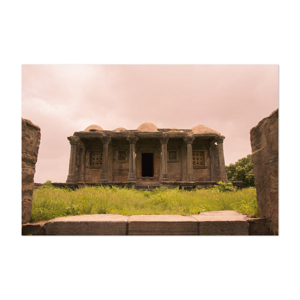 Ancient Abandoned Temple India Art Print