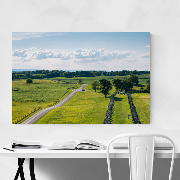 Antietam Maryland Civil War Farm Art Print