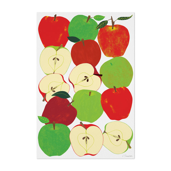 Fruit Apple Food Kitchen Art Print