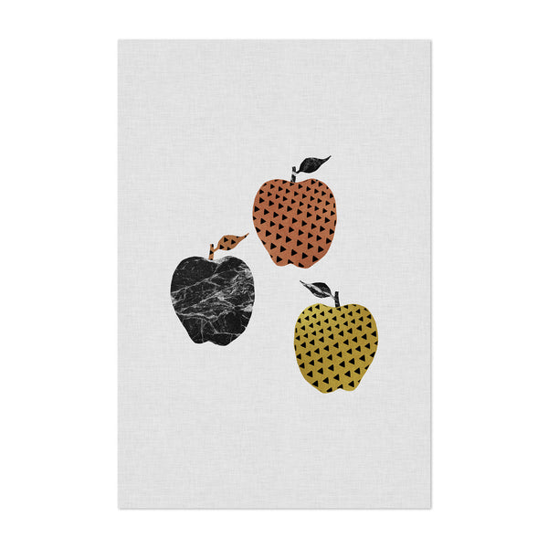 Apple Kitchen Illustration Fruit Art Print