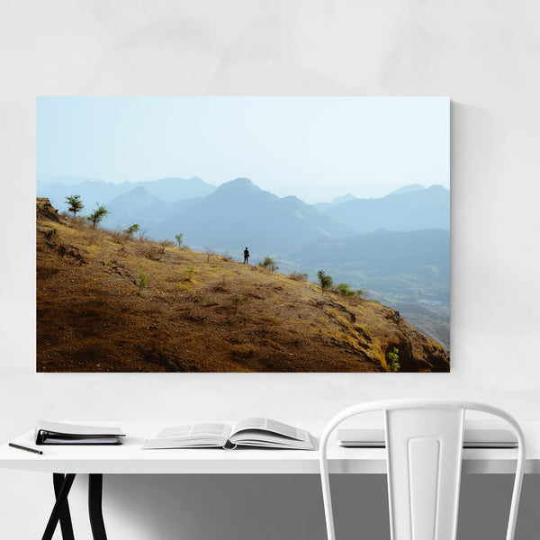 Aravali Mountain Scenic Art Print