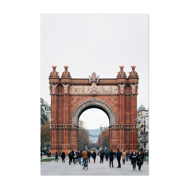 Arc de Triomf Barcelona Spain Art Print
