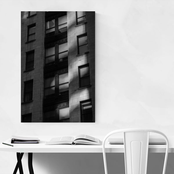 Black & White Baltimore Downtown Art Print