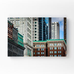 Boston Architectural Details Mounted Art Print
