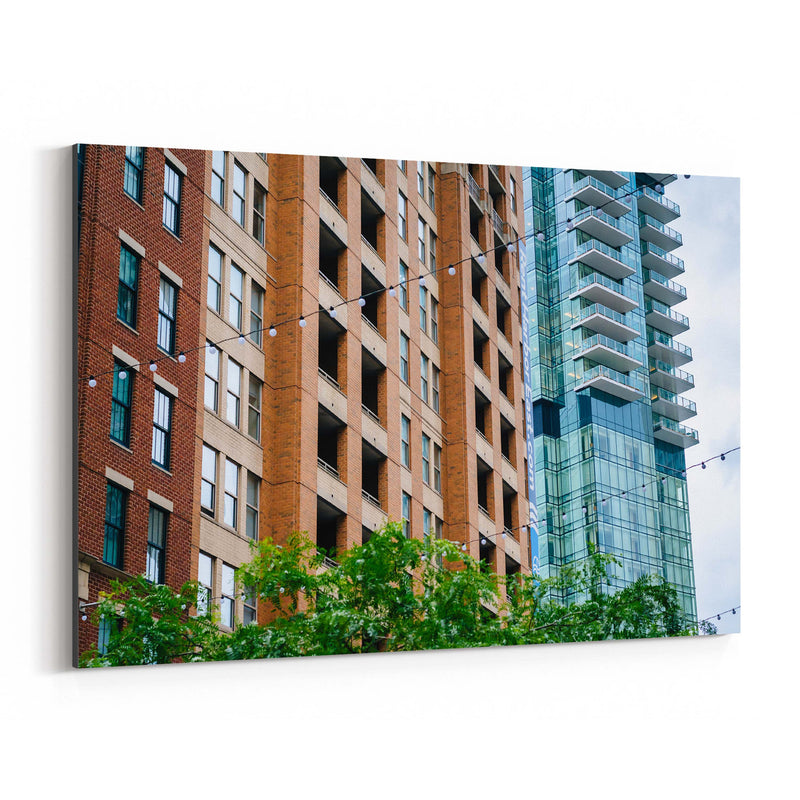 Harbor East Baltimore MD Canvas Art Print
