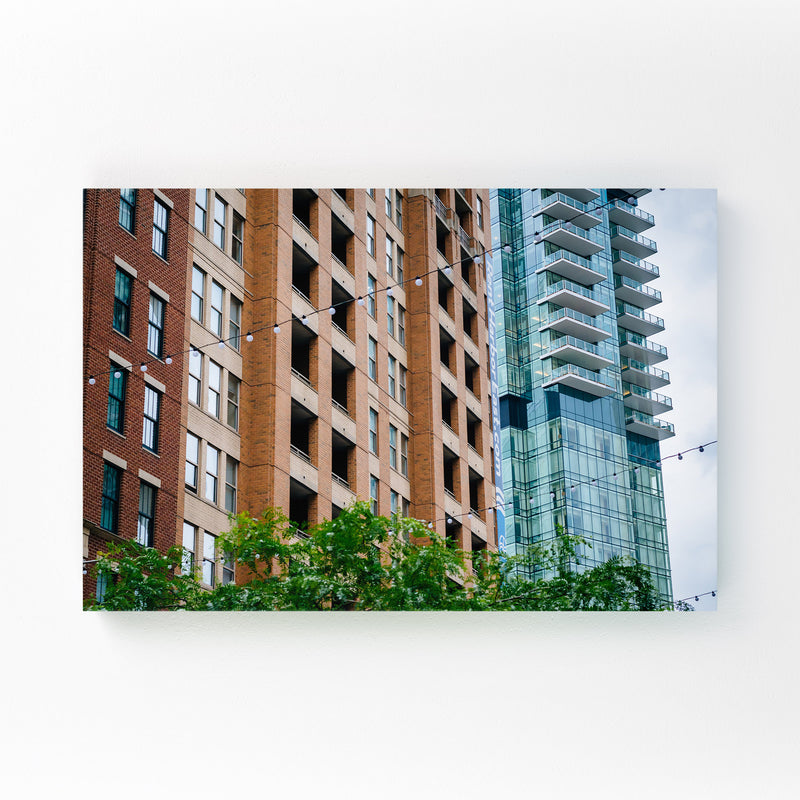 Harbor East Baltimore MD Mounted Art Print