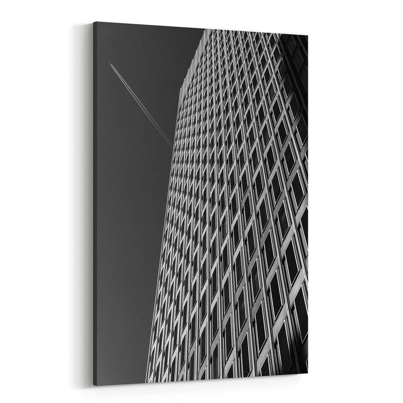 Baltimore Downtown Architecture Canvas Art Print