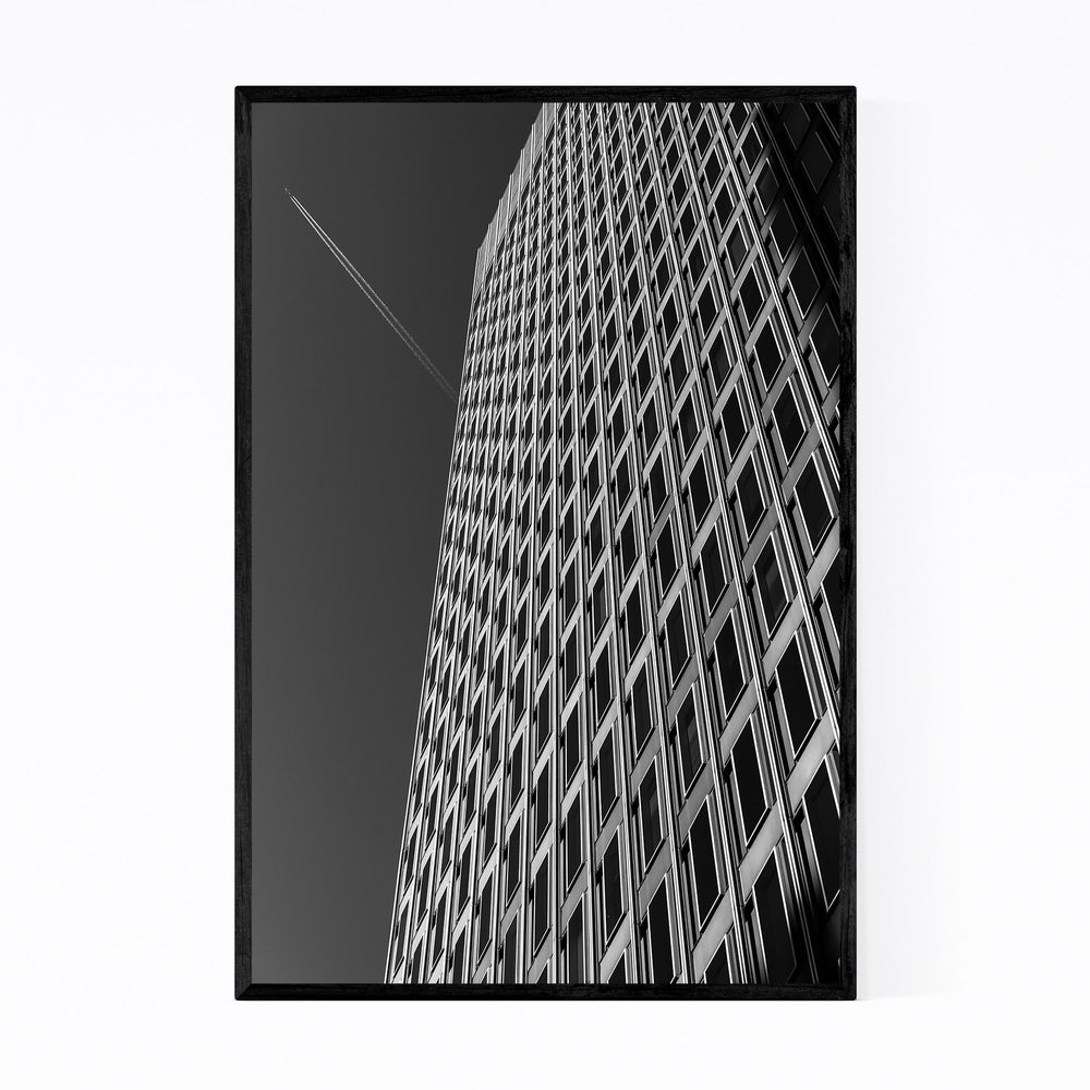 Baltimore Downtown Architecture Framed Art Print