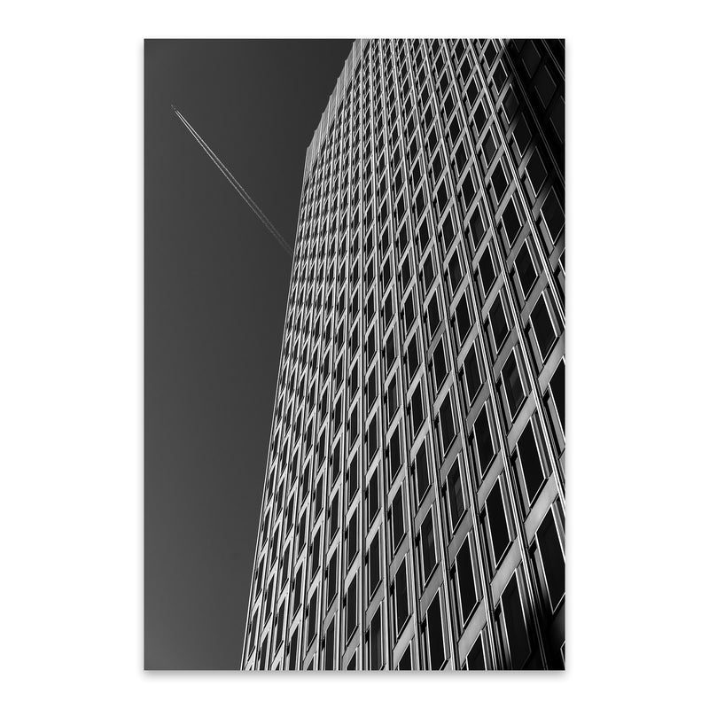 Baltimore Downtown Architecture Metal Art Print