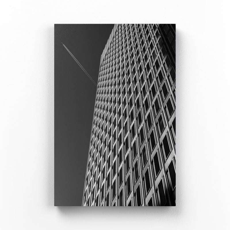 Baltimore Downtown Architecture Mounted Art Print