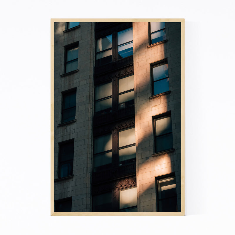Baltimore Architecture Details Framed Art Print