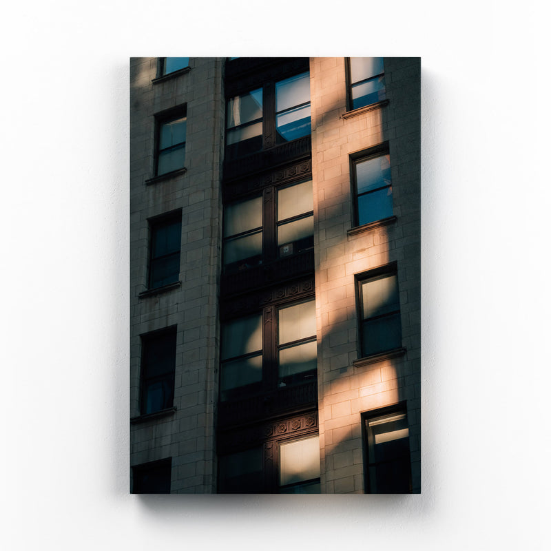 Baltimore Architecture Details Canvas Art Print