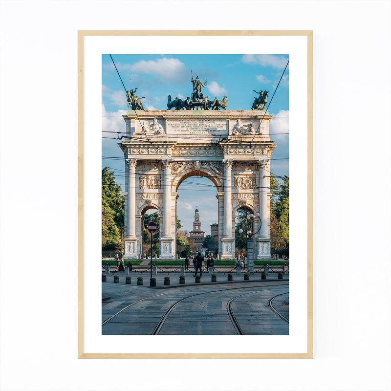 Arco della Pace Milan Italy Framed Art Print