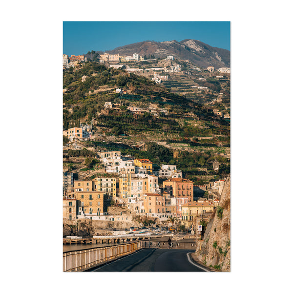 Minori Amalfi Coast Italy Photo Art Print