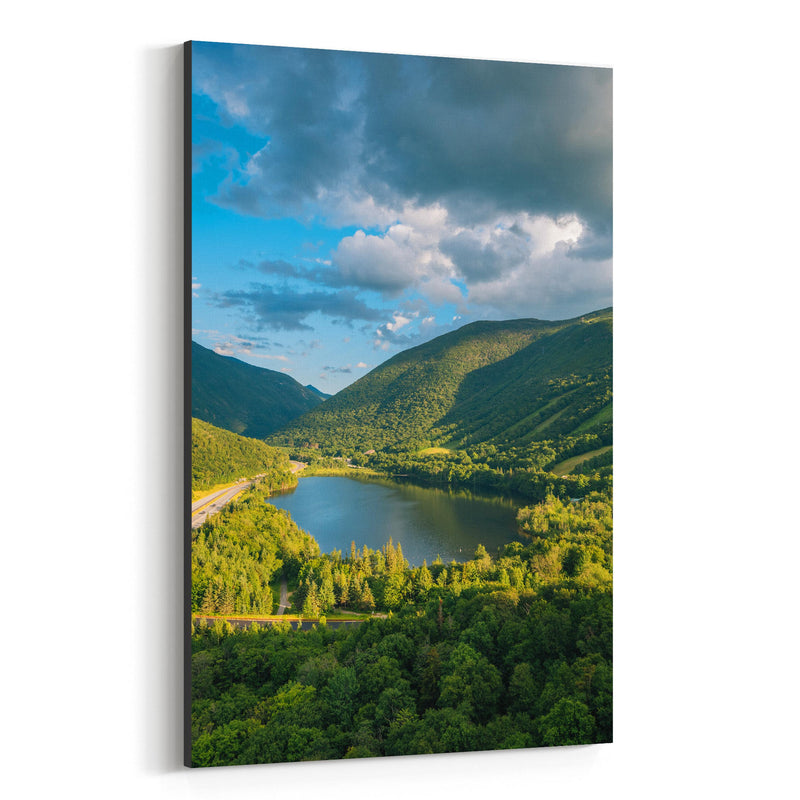White Mountains New Hampshire Canvas Art Print