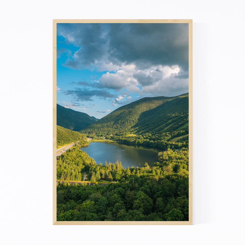White Mountains New Hampshire Framed Art Print