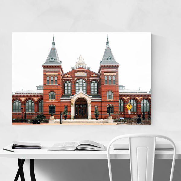 Arts and Industries Building DC Art Print