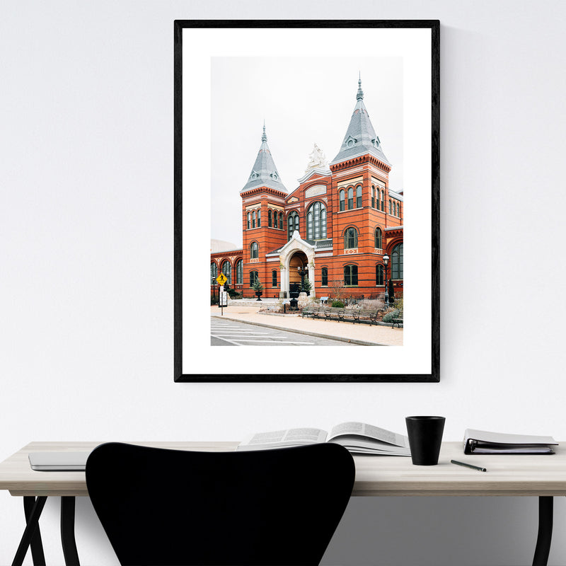 Arts and Industries Building DC Framed Art Print