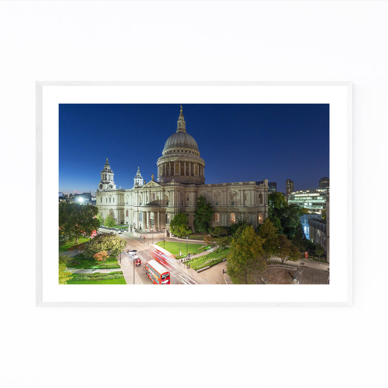 St. Paul's Cathedral London UK Framed Art Print