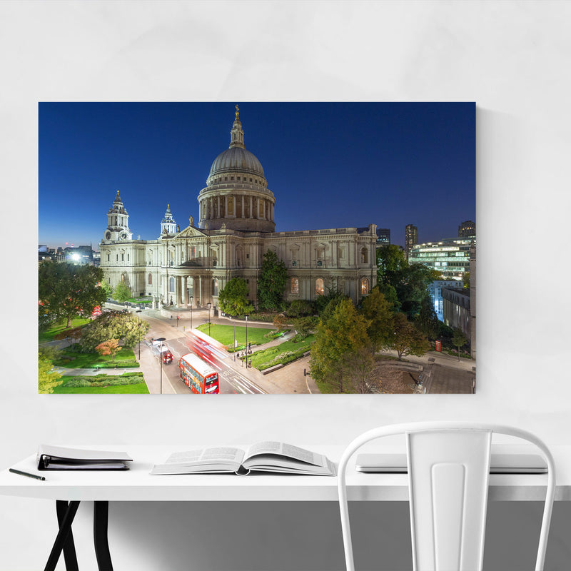 St. Paul's Cathedral London UK Canvas Art Print