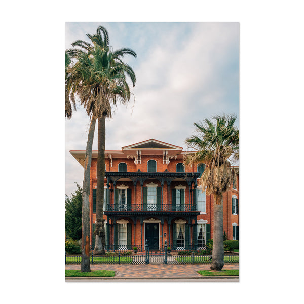 Ashton Villa Galveston Texas Art Print