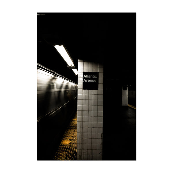 Brooklyn Atlantic Avenue Subway Art Print