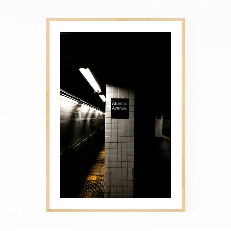 Brooklyn Atlantic Avenue Subway Framed Art Print