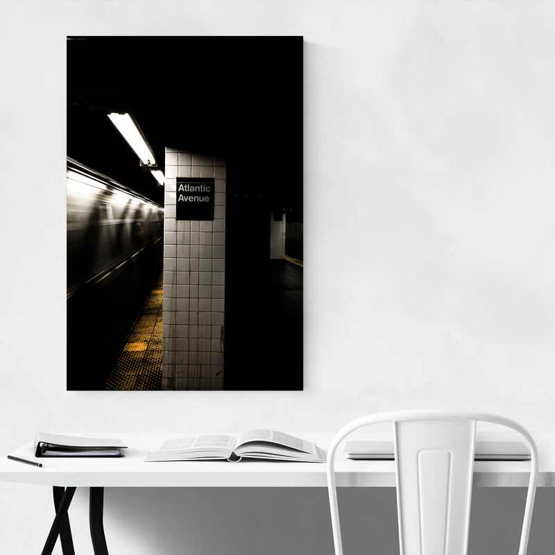 Brooklyn Atlantic Avenue Subway Canvas Art Print
