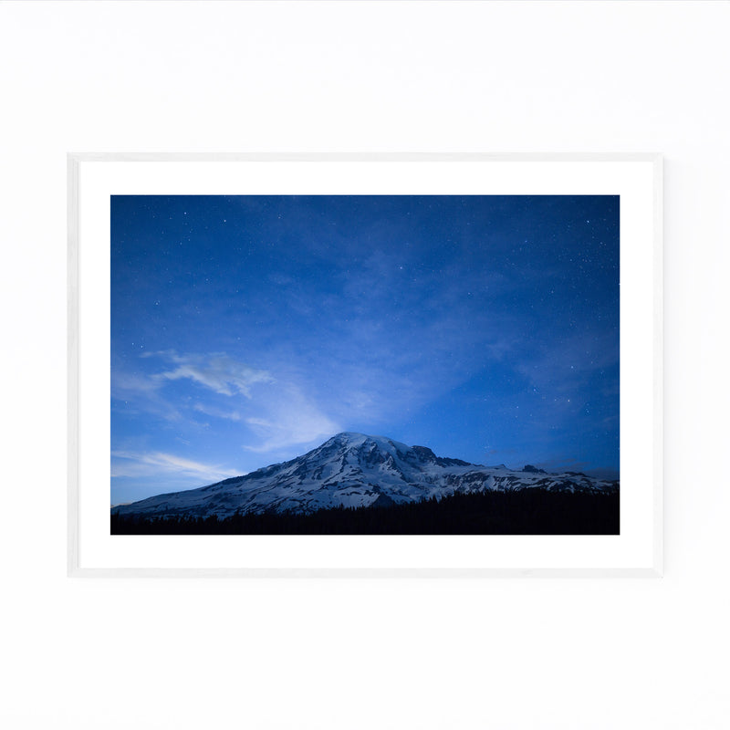 Mount Rainier Washington Nature Framed Art Print