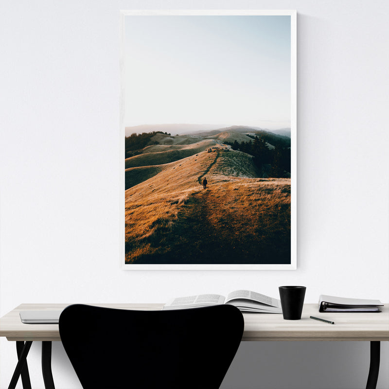 Nature San Francisco California Framed Art Print