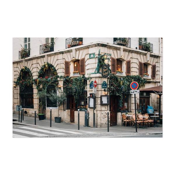 Restaurant Paris France City Art Print