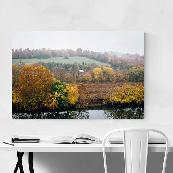 Blue Ridge Parkway Fall Autumn Art Print