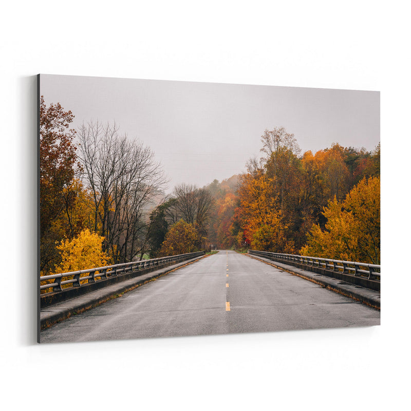 Virginia Blue Ridge Parkway Fall Canvas Art Print