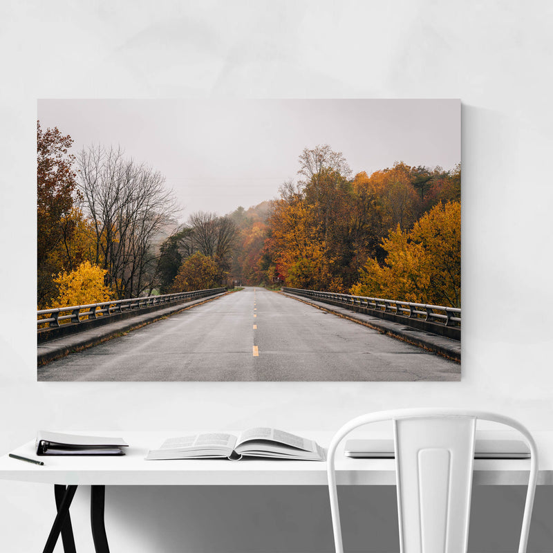 Virginia Blue Ridge Parkway Fall Art Print