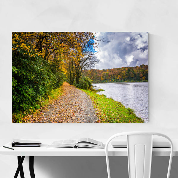 Blue Ridge Parkway Fall Color Art Print